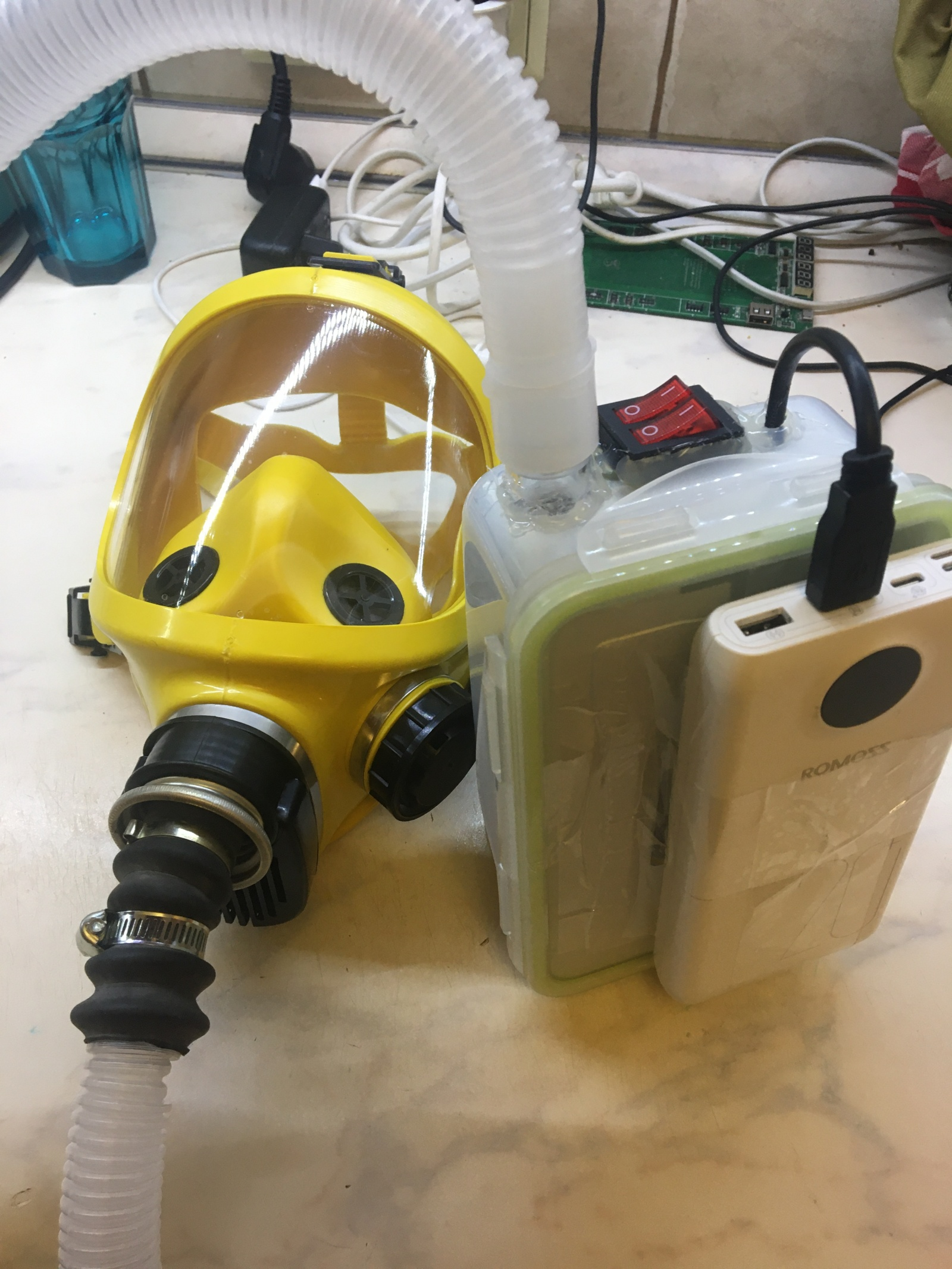 Моя попытка задержать COVID-19 (автономный дыхательный аппарат) - 32
