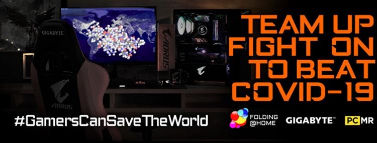 GIGABYTE присоединяется к проекту Folding@Home для борьбы с коронавирусом