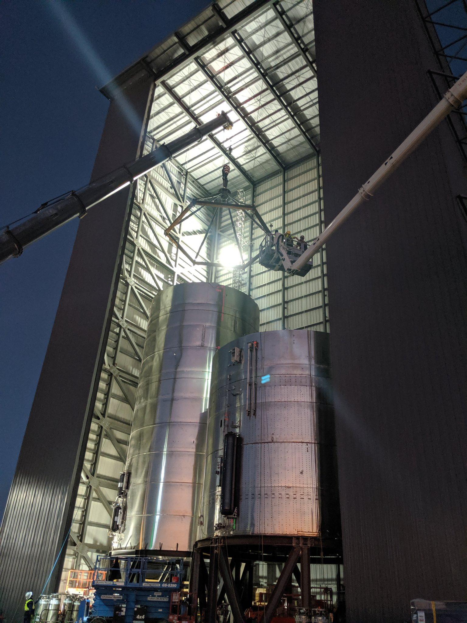SpaceX провела испытание прототипа Starship SN3, которое закончилось разрушением его элементов - 2