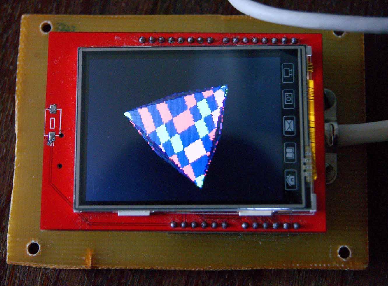 Отображение 3D-графики на STM32F407 - 2