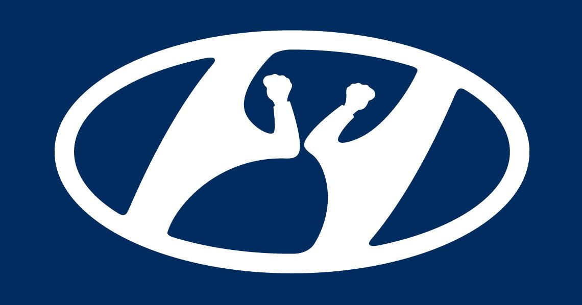 Hyundai также изменил логотип из-за коронавируса