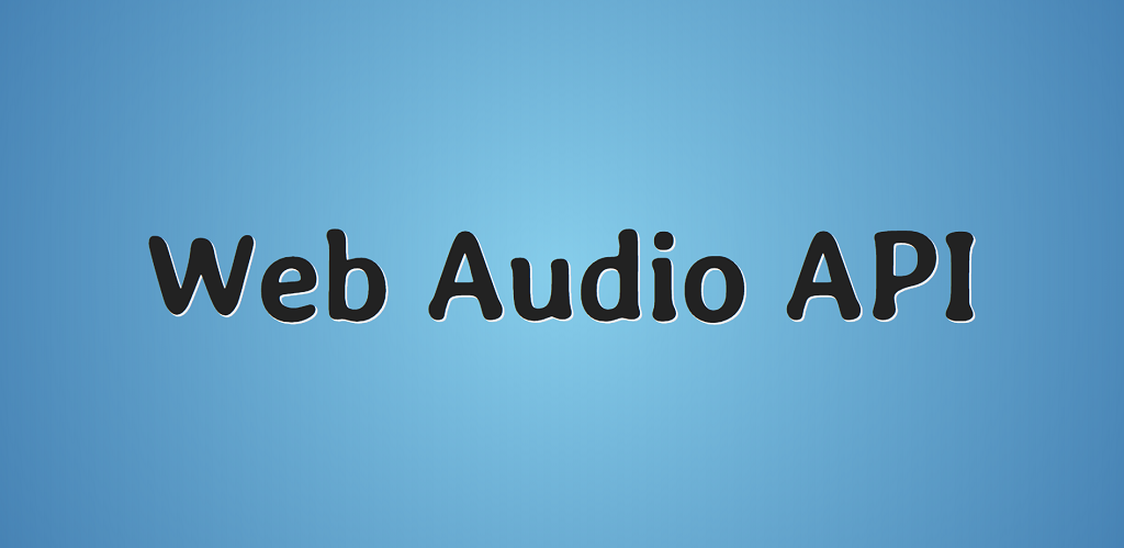 Концепции, лежащие в основе Web Audio API - 1