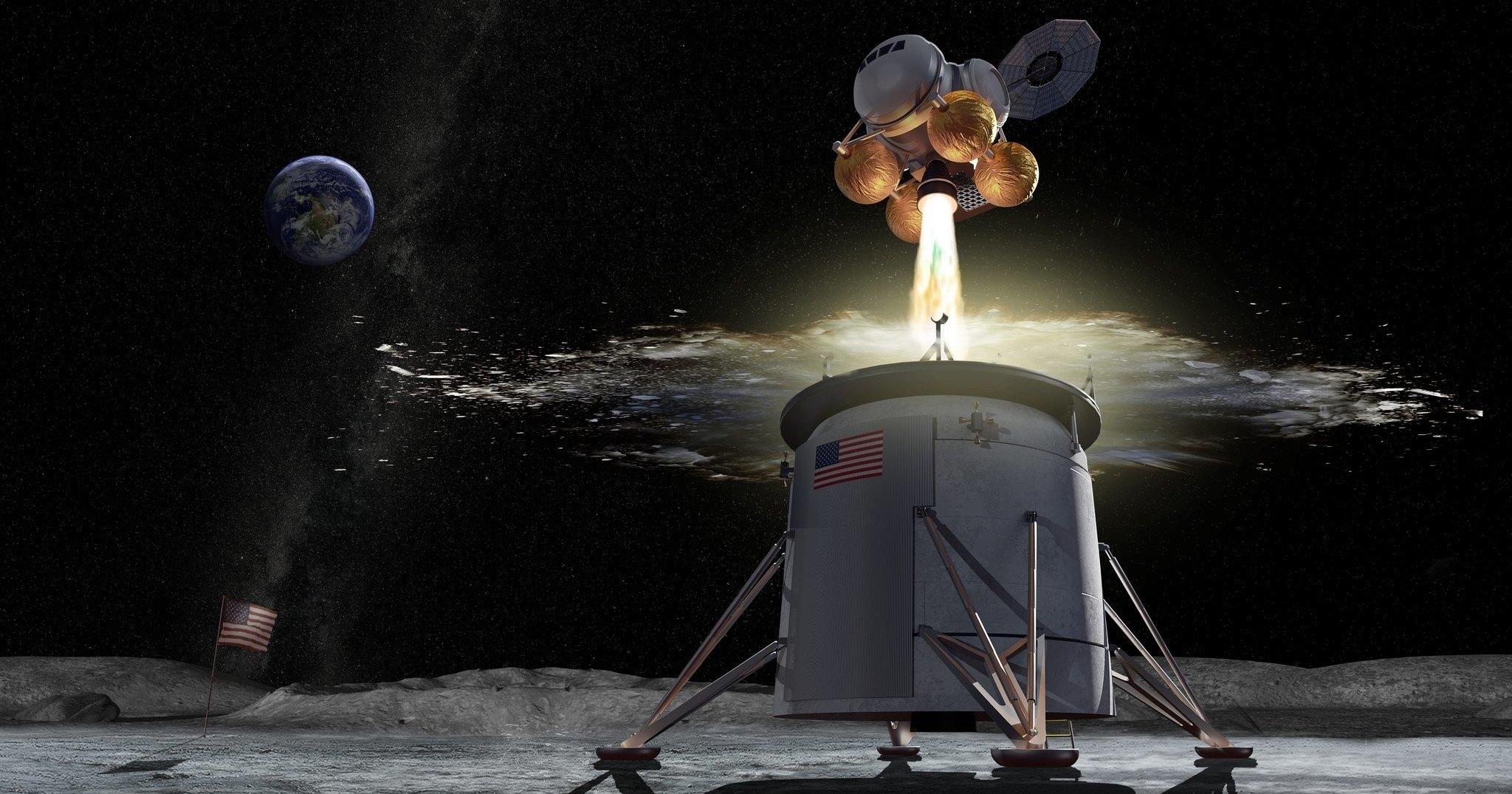 В НАСА представили амбициозный план освоения Луны