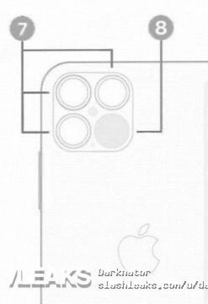 Так выглядит камера iPhone 12. Опубликовано новое изображение