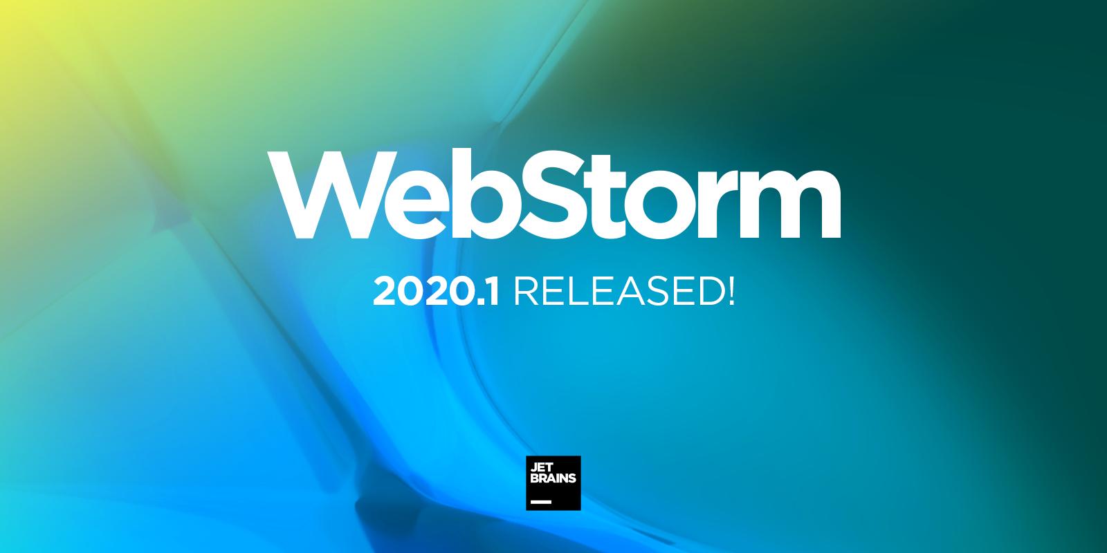 webStorm-2020-1-released