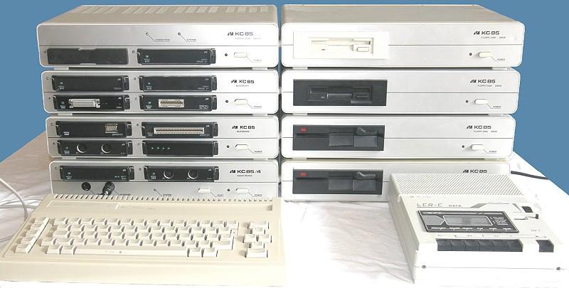 KleinComputer KC 85-4 — модульность из прошлого - 13