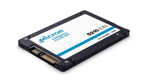 Линейку твердотельных накопителей Micron 5210 ION пополнила модель объемом 960 ГБ