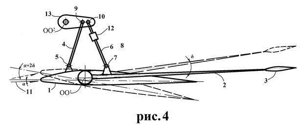 Самолёт с аэродинамически смещённой центровкой - 4