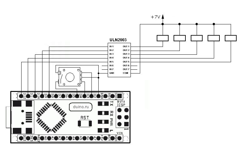 Пузырьковый дисплей на ардуино - 4