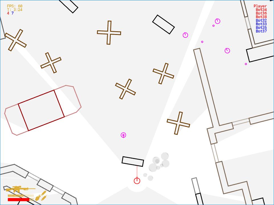 Реалистичный боевой ИИ для 2D-игры - 6