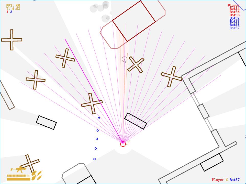 Реалистичный боевой ИИ для 2D-игры - 8