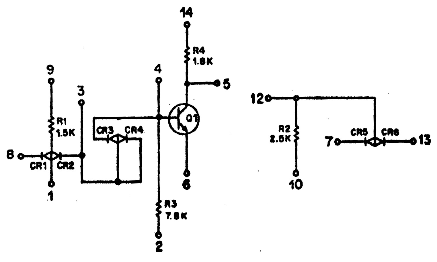 Печатная плата с ракеты Сатурн-5 – обратная разработка с пояснениями - 12