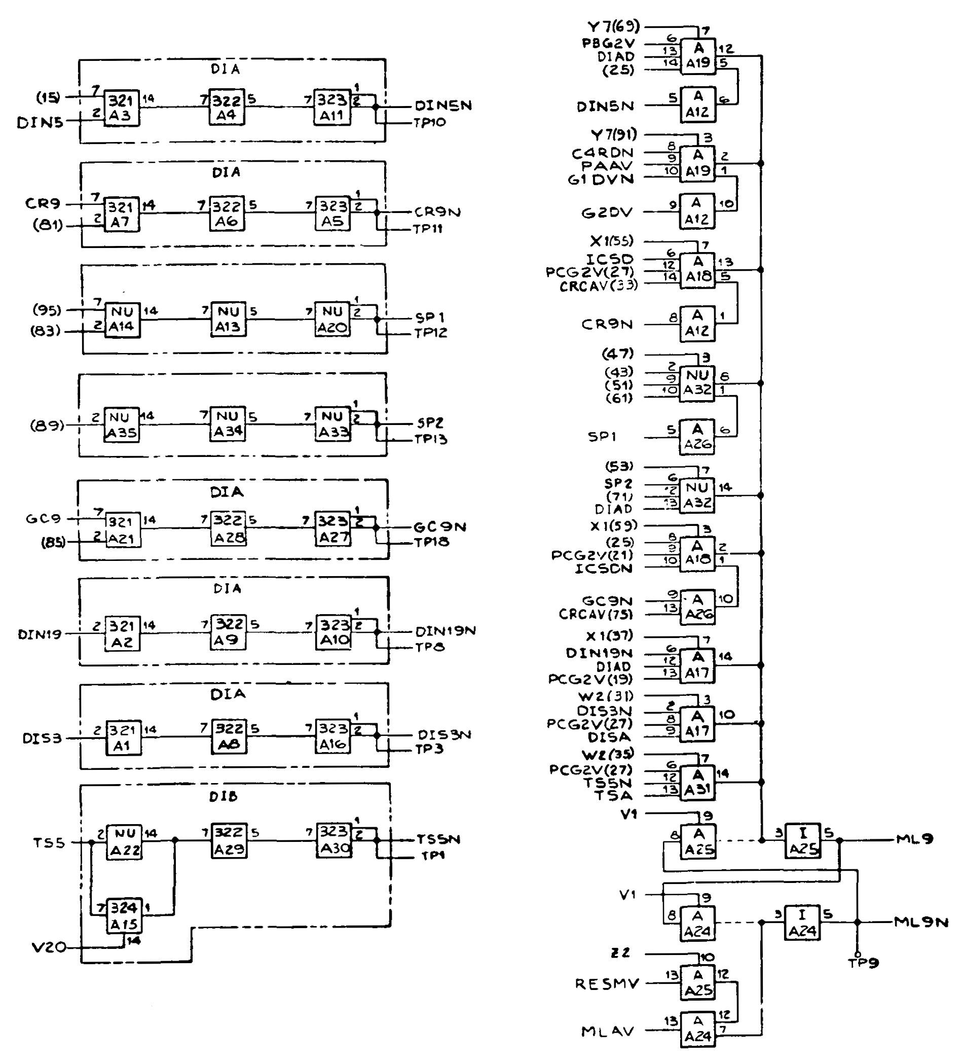 Печатная плата с ракеты Сатурн-5 – обратная разработка с пояснениями - 16