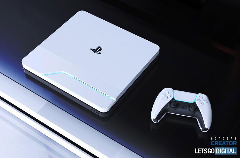 PlayStation 5 впервые показали в новой цветовой гамме геймпада DualSense в очень красивом неофициальном ролике