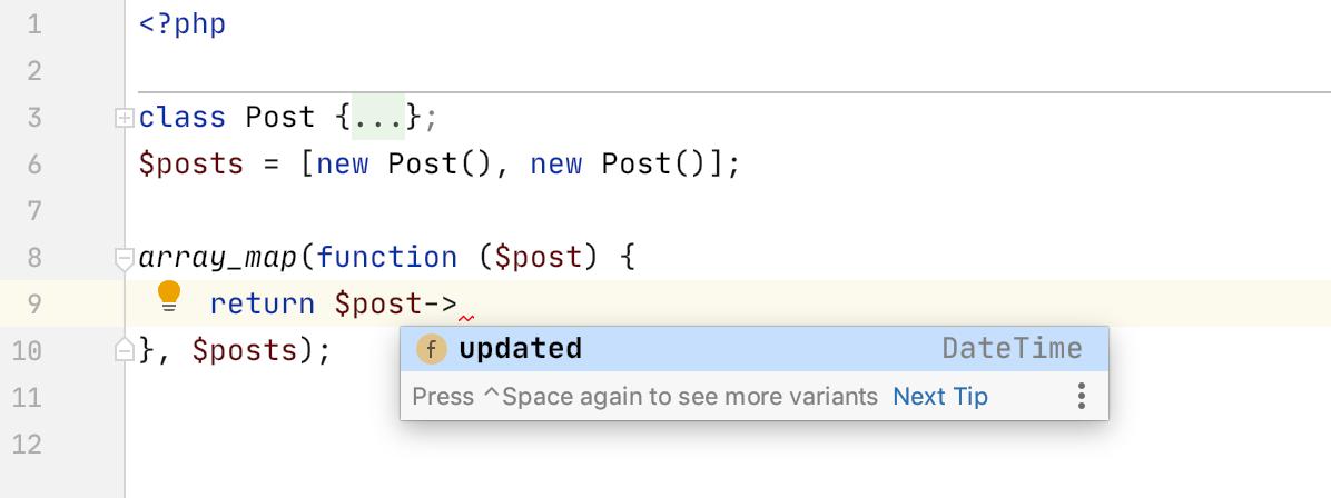 PhpStorm 2020.1: поддержка composer.json, инструменты для PHPUnit, покрытие кода с PCOV и PHPDBG, Grazie и другое - 13
