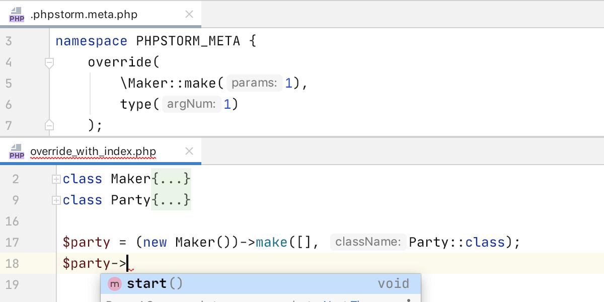 PhpStorm 2020.1: поддержка composer.json, инструменты для PHPUnit, покрытие кода с PCOV и PHPDBG, Grazie и другое - 18