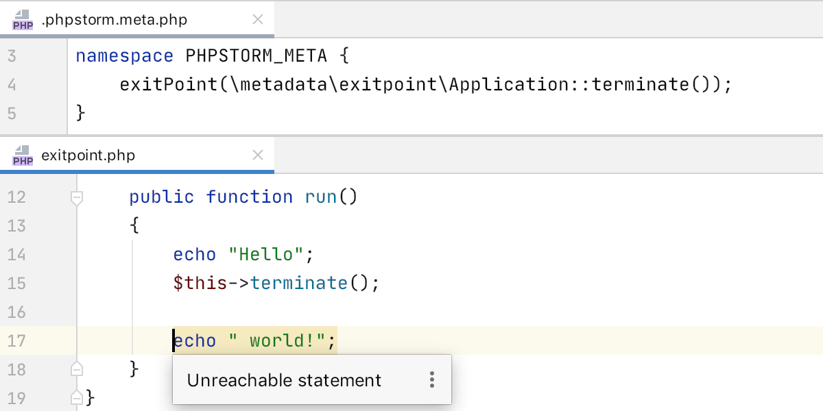 PhpStorm 2020.1: поддержка composer.json, инструменты для PHPUnit, покрытие кода с PCOV и PHPDBG, Grazie и другое - 21