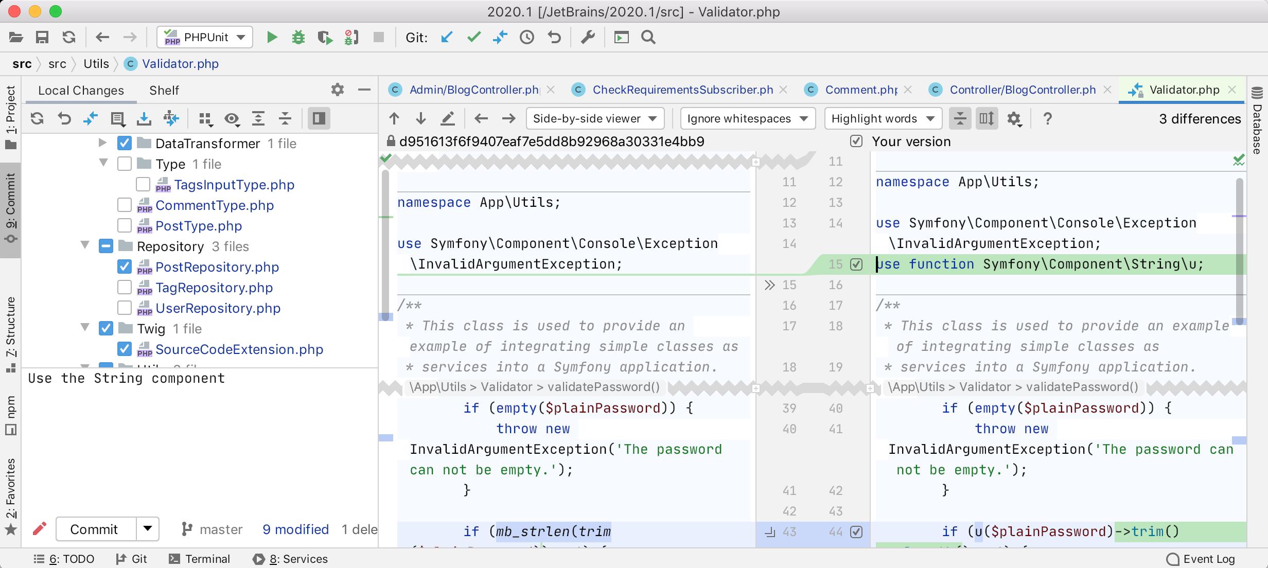 PhpStorm 2020.1: поддержка composer.json, инструменты для PHPUnit, покрытие кода с PCOV и PHPDBG, Grazie и другое - 44