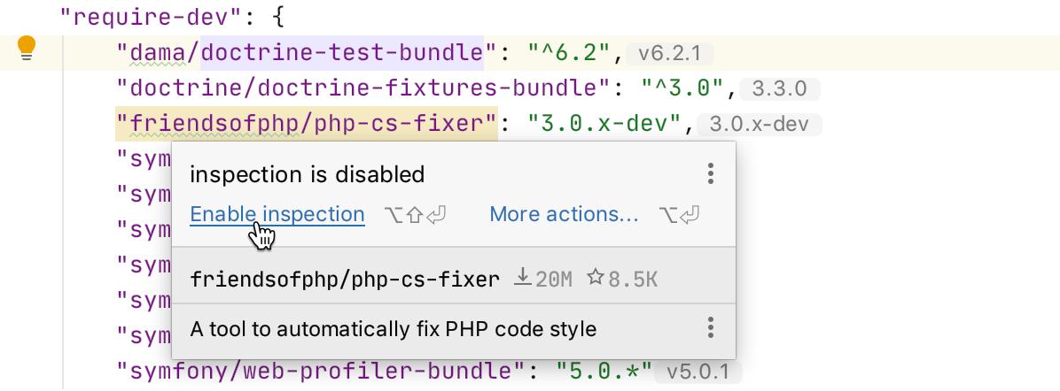 PhpStorm 2020.1: поддержка composer.json, инструменты для PHPUnit, покрытие кода с PCOV и PHPDBG, Grazie и другое - 9
