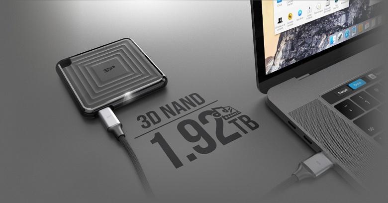 Silicon Power называет PC60 своим самым тонким портативным твердотельным накопителем