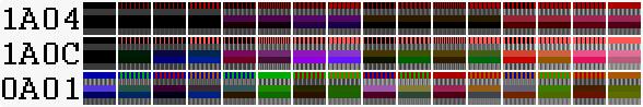 Как же всё-таки получаются 1024 цвета в CGA? И действительно ли их 1024? - 20