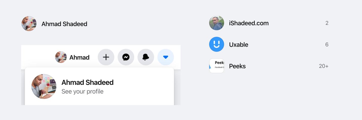 Интересные CSS-находки в новом дизайне Facebook - 2