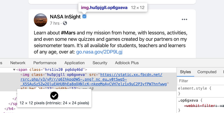 Интересные CSS-находки в новом дизайне Facebook - 6