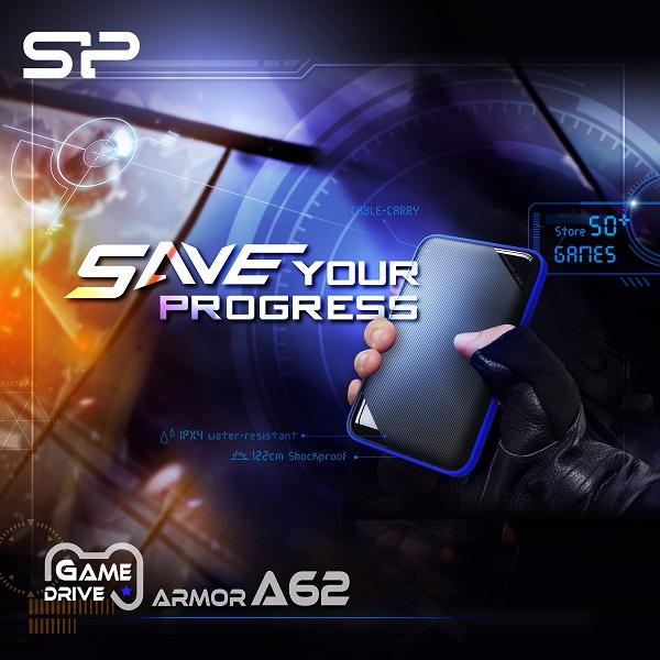 Silicon Power называет внешний жесткий диск A62 игровым