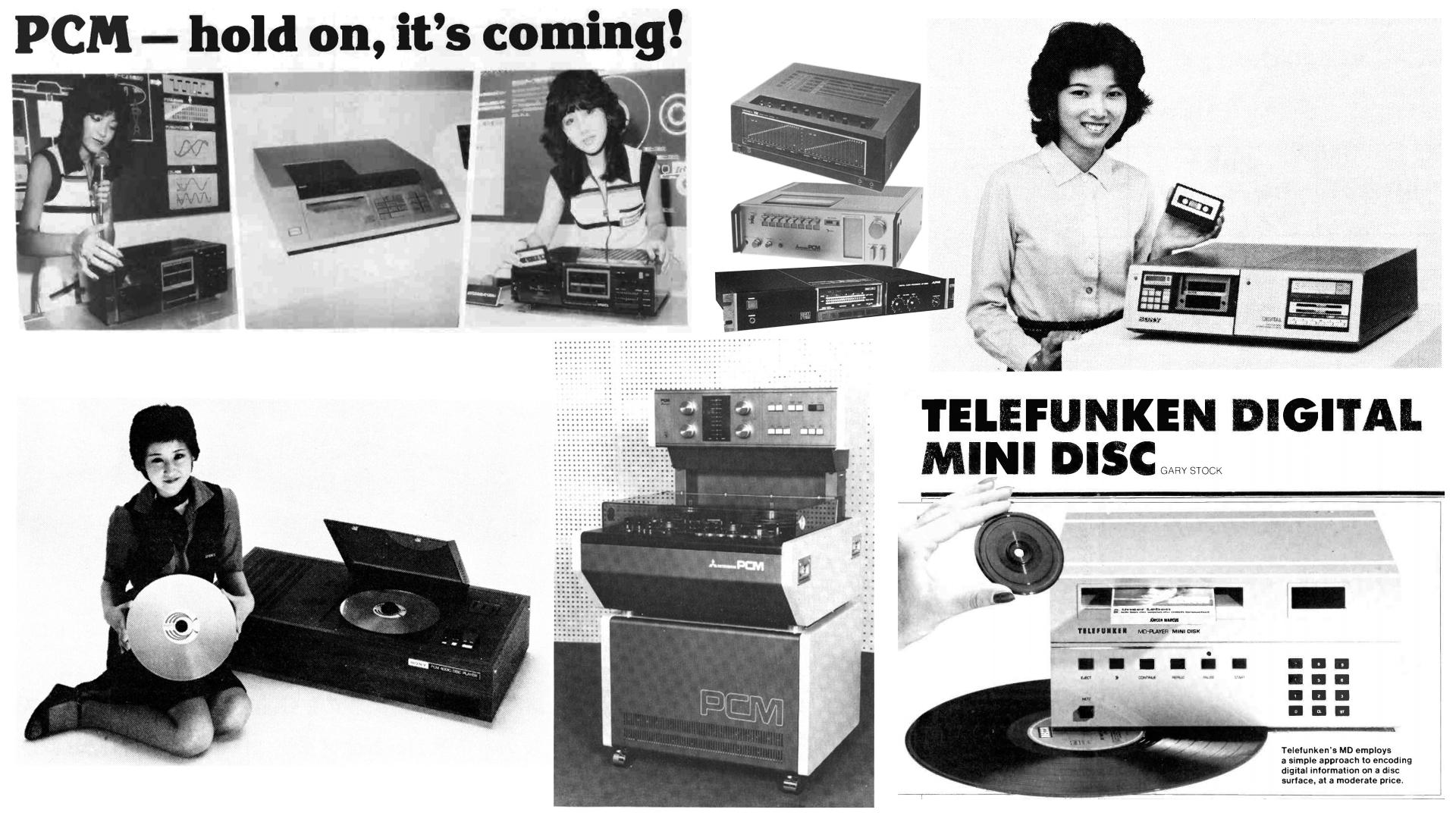 Была ли жизнь до Audio CD или как ЕЩЁ раньше писали цифровой звук - 6