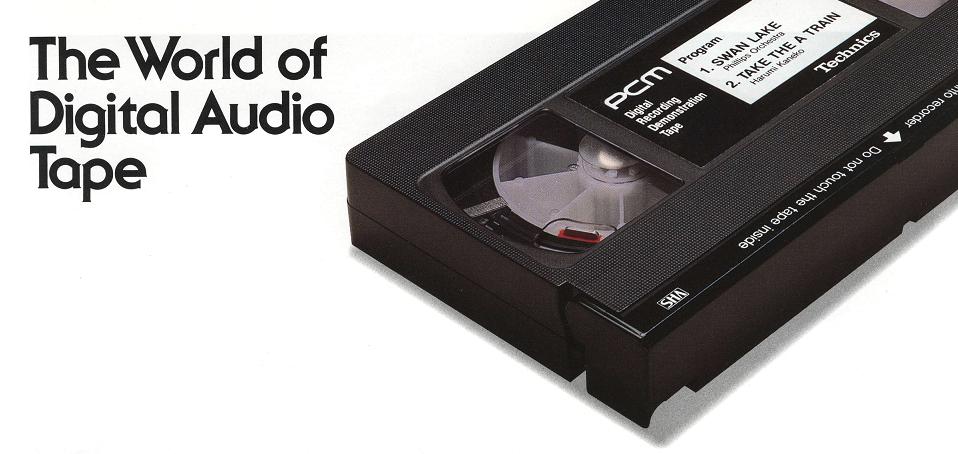 Была ли жизнь до Audio CD или как ЕЩЁ раньше писали цифровой звук - 1
