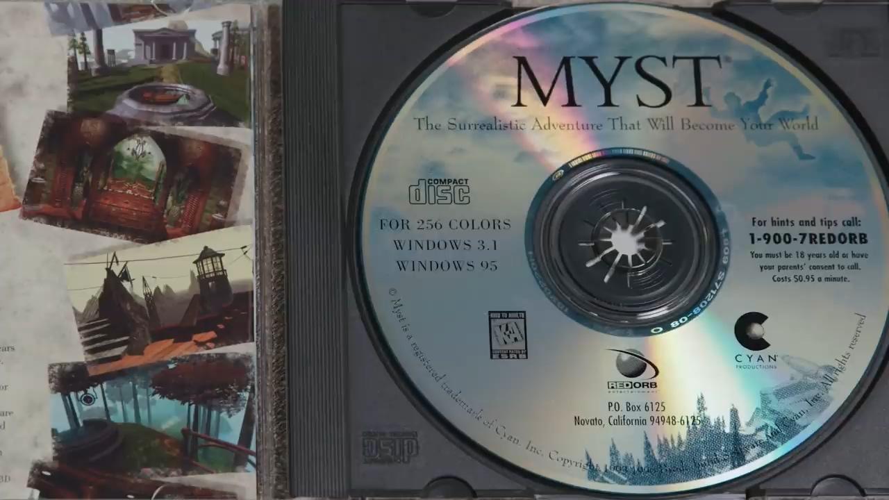 Как разработчикам Myst удалось уместить на одном CD-ROM целую вселенную - 7