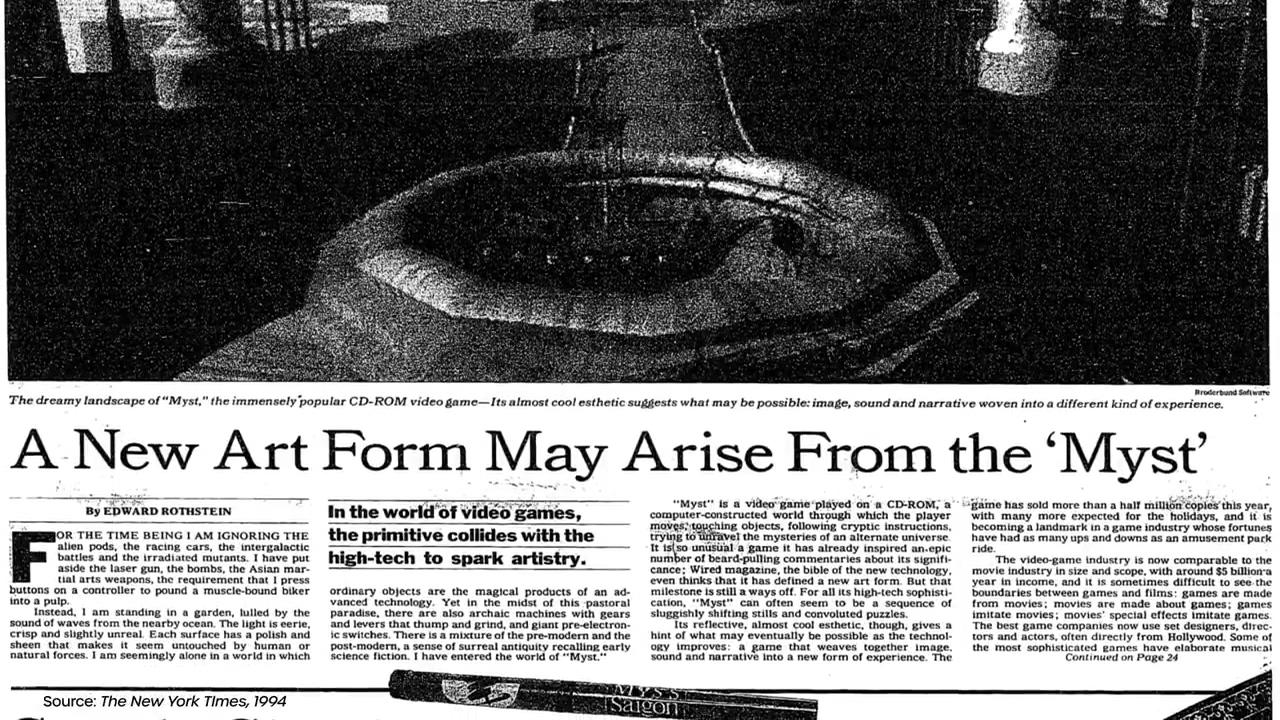 Как разработчикам Myst удалось уместить на одном CD-ROM целую вселенную - 8
