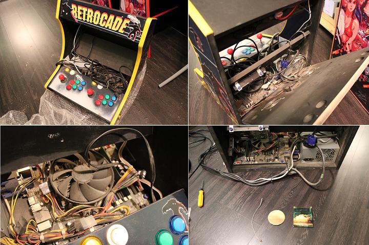 Как я аркадный автомат ремонтировал - 3