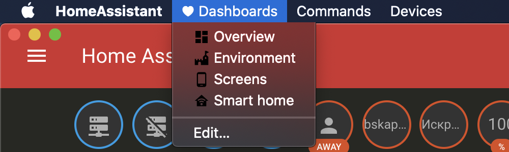 Производство Material иконок для MacOSX приложения Home Assistant на Electron - 2