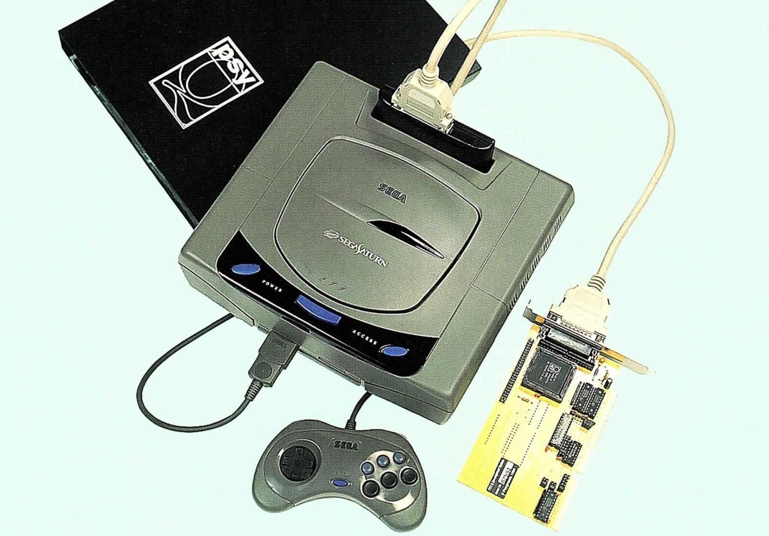 Сердце разработчика: девкиты Sega Saturn - 11