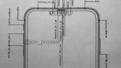 Чертёж подтверждает существенно уменьшенную «чёлку» в iPhone 12