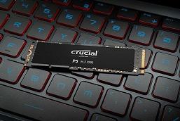 Твердотельные накопители Crucial P5 выпускаются объемом до 2 ТБ