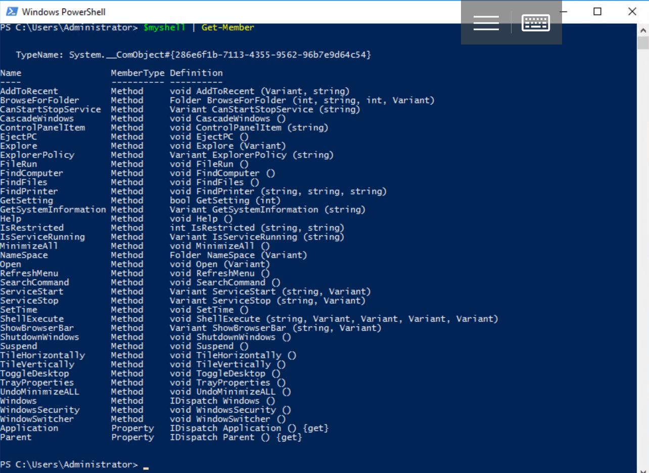Что такое Windows PowerShell и с чем его едят? Часть 5: Доступ к внешним объектам - 14