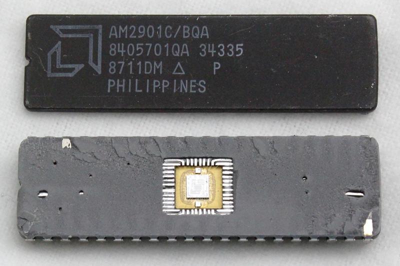 Внутри многокристального секционного микропроцессора Am2901 от AMD 1970-х годов - 4