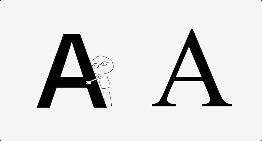 Знаменитые дизайнеры vs научные исследования про читаемость шрифтов - 11
