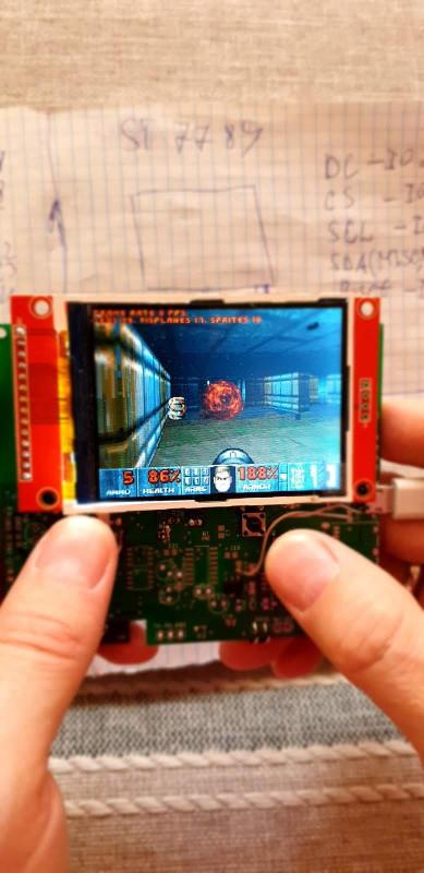 Doom Boy ESP32 - 1