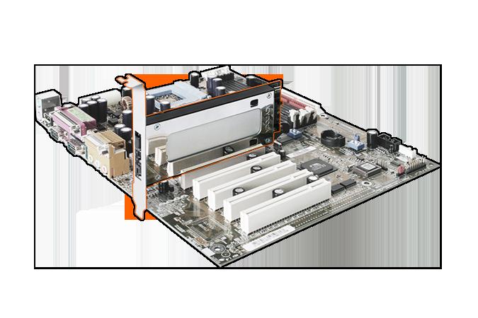 Icy Dock ToughArmor MB840M2P-B позволяет подключить в слот PCIe твердотельный накопитель типоразмера M.2