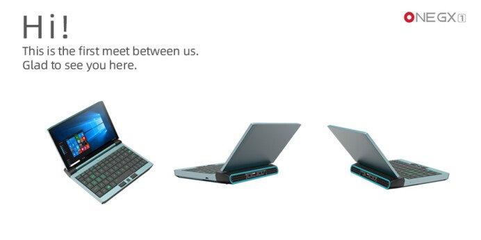 Представлен первый ноутбук на CPU Intel Tiger Lake, и это небольшой аппарат с семидюймовым экраном