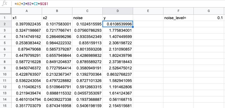 Учим нейросети в Google Таблицах - 2