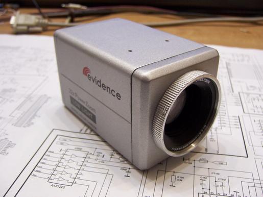 Обратная разработка аналоговой видеокамеры - 2