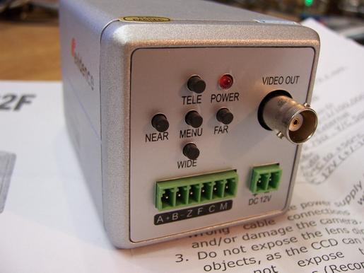 Обратная разработка аналоговой видеокамеры - 3