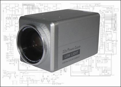 Обратная разработка аналоговой видеокамеры - 1