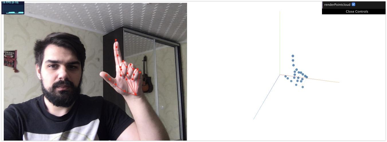 Руками не трогать! Управляем веб-страницей с помощью веб-камеры - 19