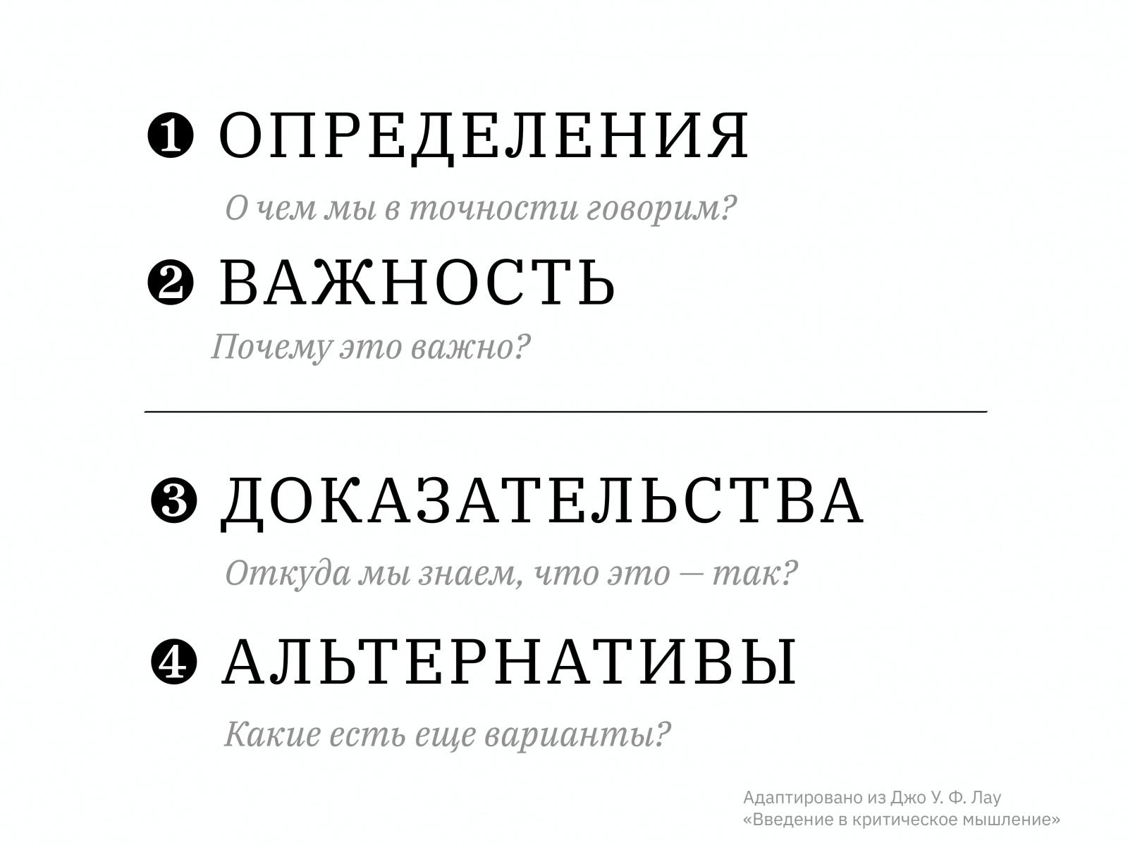 Алексей Каптерев: Критическое мышление 101 (часть 2) - 2