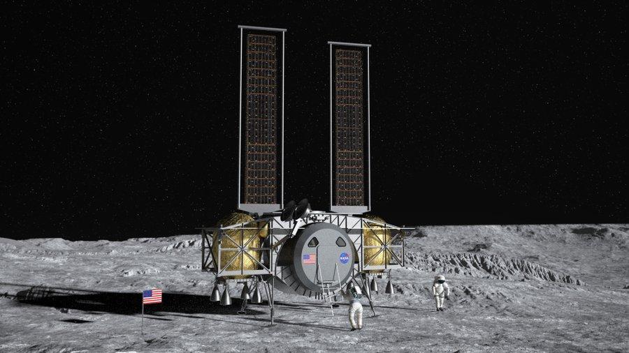 НАСА выбрало три фирмы, которые будут участвовать в программе создания корабля для посадки на Луну - 2